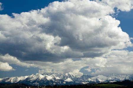 Tatra Mountains panorama photo