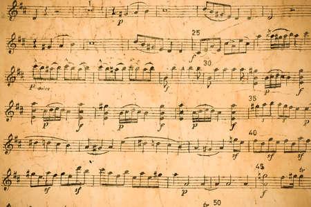 puntuación musical