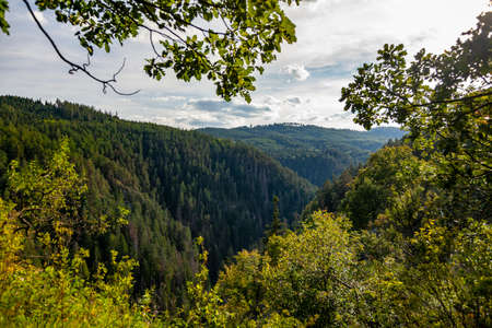 Slovak Paradise - part of the Chain of Slovak Ore Mountains in the Inner Western Carpathians
