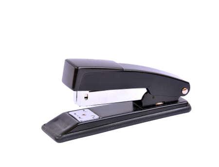 office stapler: Office stapler on white