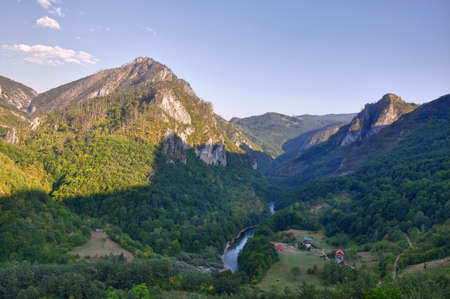 the deepest: Canyon of Tara in montenegro, European deepest canyon.