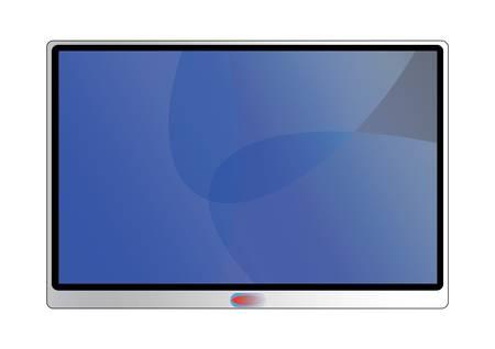 Modern television screen  Vector