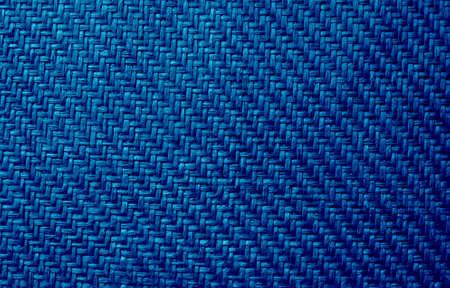 background made of blue braid photo