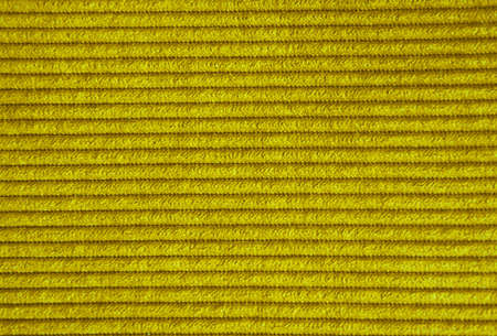 Gold background - texture made of red fabric photo
