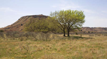 butte: butte in the northwest corner of Oklahoma