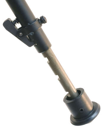 leg on a bipod that is used on a precision sniper rifle