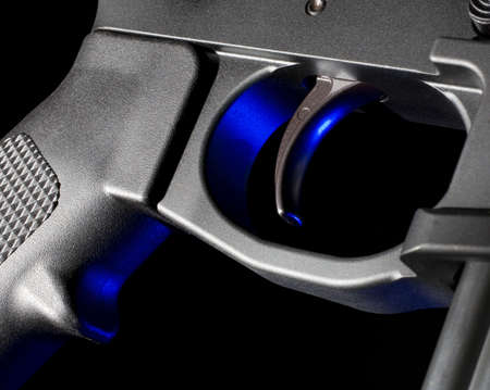 gatillo: Grupo de activaci�n en un AR que tiene geles azules por detr�s