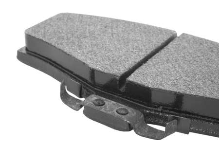 Pad and chirper that are used on the disc brakes of a modern vehicle