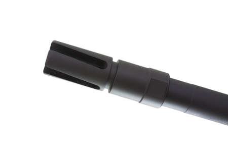 flash hider: Bocacha que est� en el extremo de un barril asalto fusiles