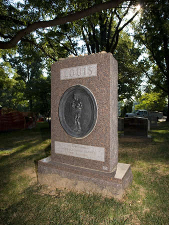 joe louis: Famous boxer was laid to rest in Arlington National Cemetery