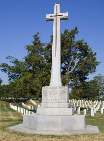 erected: Monument erected at Arlington National Cemetery by Canada Editorial