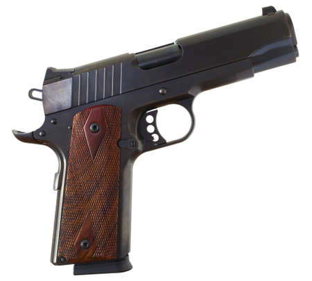 Semi automatic handgun that is used for self defense Stock Photo - 16527766