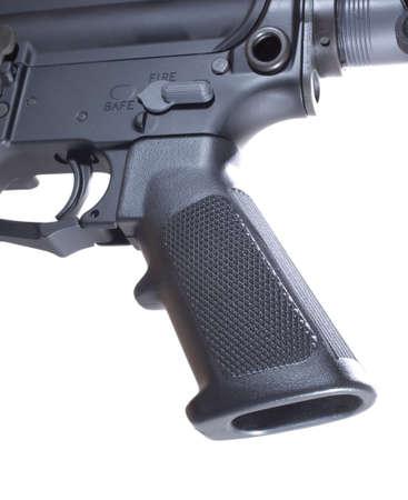 trigger: Pistola y el gatillo que est�n en un AR-15