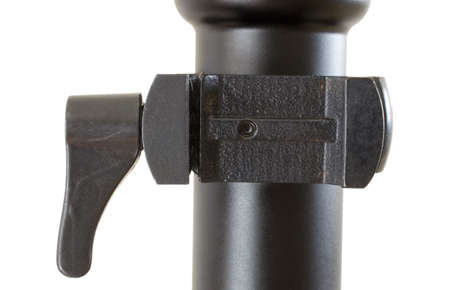 Quickly attached scope base for a high powered tactical rifle