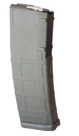 高分子アサルトライフル マガジン 30 ラウンドを保持しています。