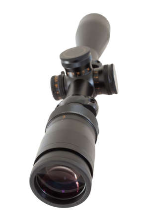high powered: Scope that is used for long shots on a high powered rifle