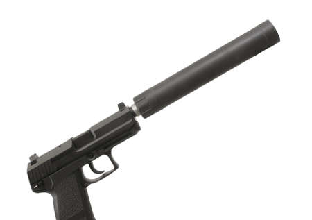 Quiet Handgun Standard-Bild