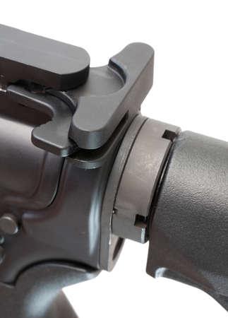 半自動ライフルのカートリッジを私通に使用されるハンドル 写真素材 - 25670847