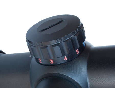Dial that is used to change colors and brightness on a scopes reticle