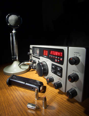 CB radio that works on both sideband and am frequencies photo