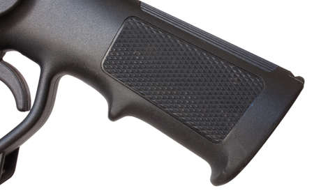 grip: Polymer pistol grip that is used on a modern rifle