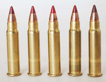 Rimfire ammunition that is used in a seventeen caliber gun