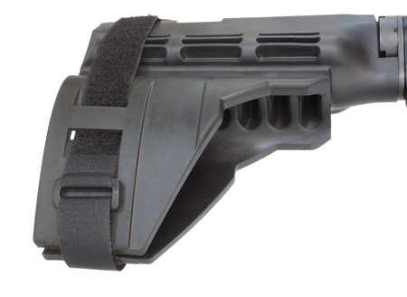 Polymer stock that is short enough to make an AR15 a handgun