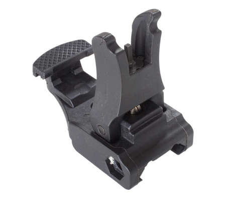 Front sights for an Ar-15 that can be flattened