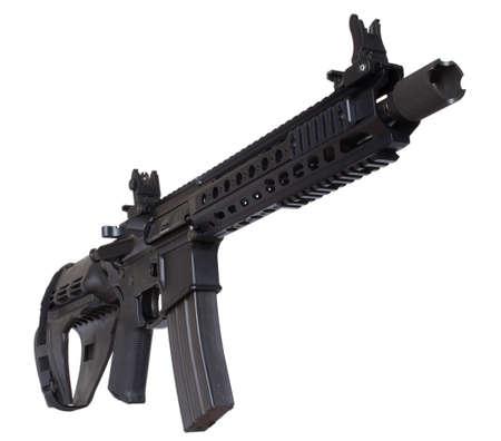 qualify: Short barrel and short stock qualify this as a handgun