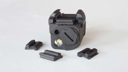 Bolts that are used to hold a laser sight on a handgun