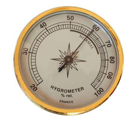 白で隔離される湿度を測定するために使用するアナログ デバイス