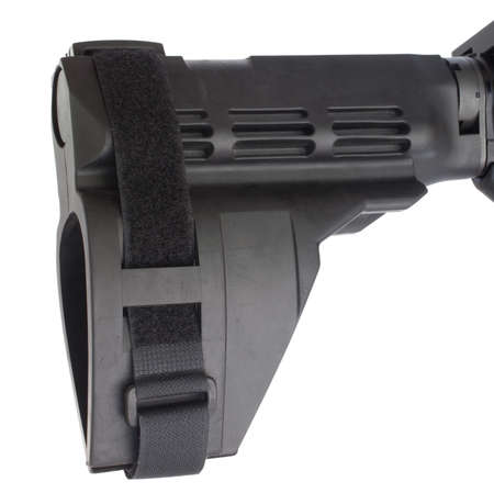 Polymer stock that is used on a short semi automatic rifle