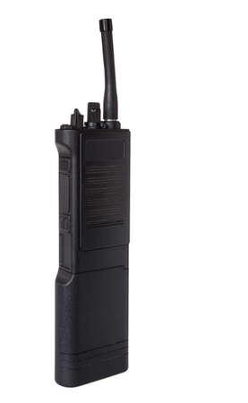 Two way radio that is termed a walkie talkie