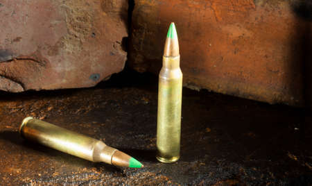 tipped: Green tipped 5.56 ammo that can go through armor