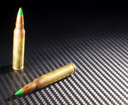 Green tipped ammunition that some consider armor piercing