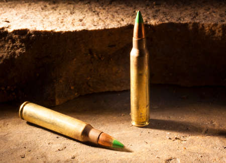 ammo: Small caliber rifle ammo that some think is armor piercing