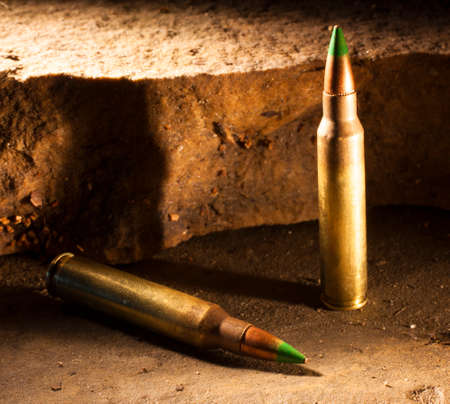 Ammunition with a green tip some consider capable of piercing body armor