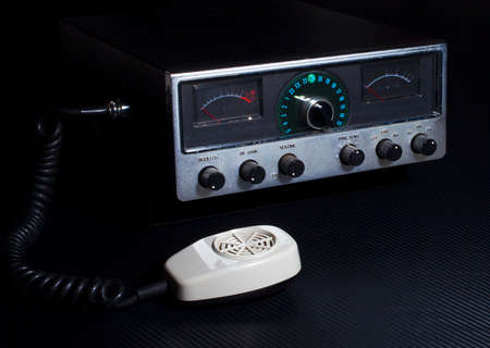 cb: Citizens band radio with twenty three channels and single side band Stock Photo