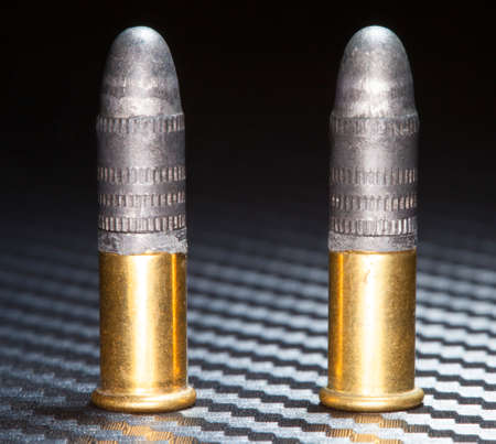 twenty two: Rimfire ammunition that is designed for used in twenty two caliber firearms
