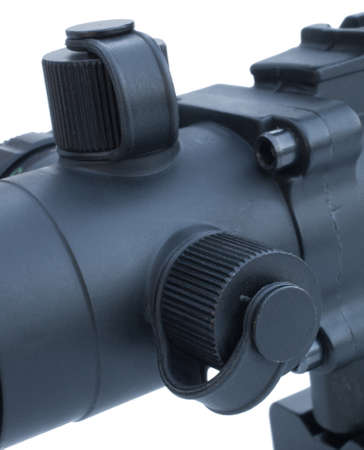 knobs: Knobs that are turned to adjust point of impact on a rifle scope