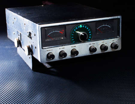 Citizens band radio that talks on side band and twenty three channels