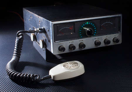 Older style radio with twenty three channels and side band
