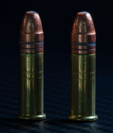 twenty two: Two cartridges that are designed for firearms that are twenty two caliber