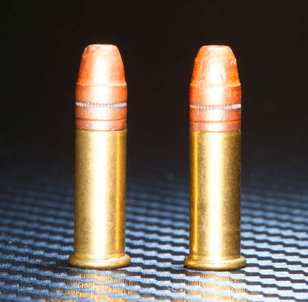 twenty two: Two rimfire cartridges made for chambering in twenty two caliber firearms