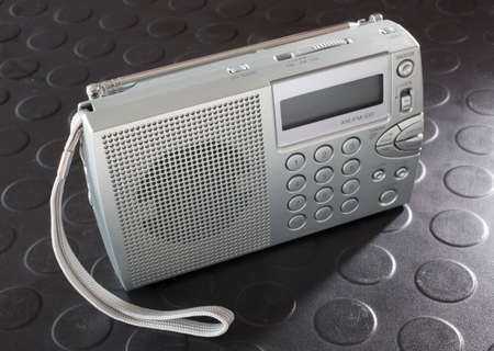 shortwave: Portable battery powered radio to listen to commercial and shortwave broadcasts