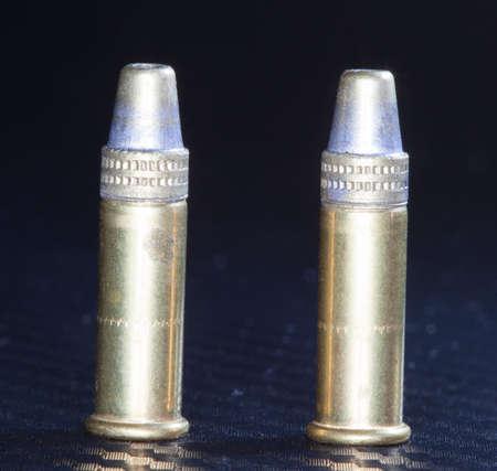 twenty two: Rim fire ammunition designed to be used in a twenty two caliber gun