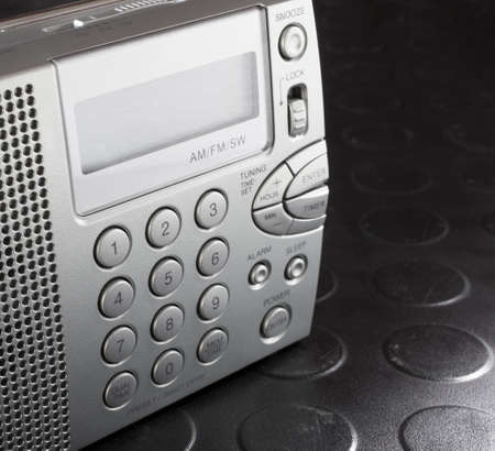 shortwave: Radio capable of hearing broadcast and shortwave transmissions that runs on batteries