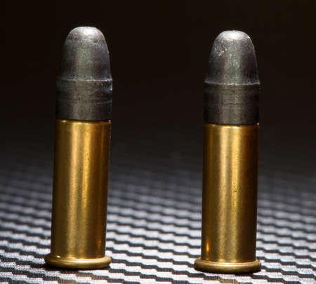 twenty two: Two cartridges that are for a twenty two rimfire firearm