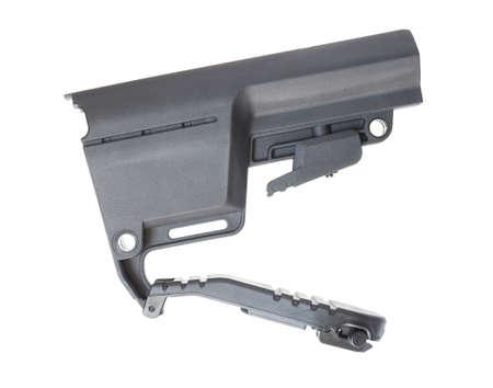 Adjustable length stock for an AR-15 with battery door open Reklamní fotografie