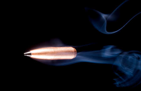 plating: Lead bullet with copper plating and a polymer tip with smoke